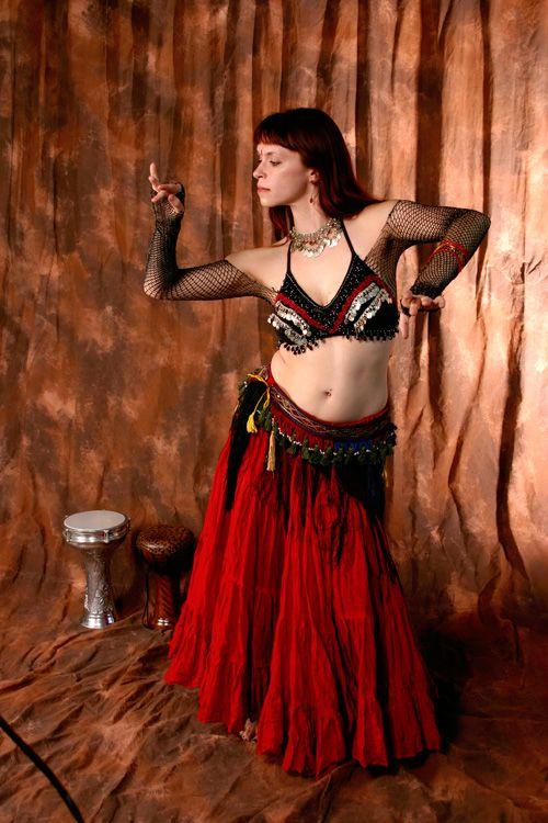 Как сшить костюм для танца живота