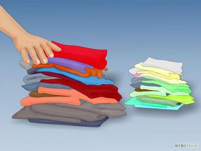 Как стирать одежду