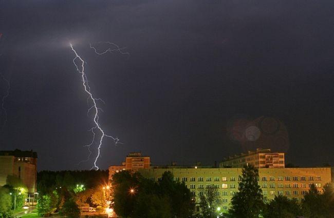 Как уберечься от поражений молнией
