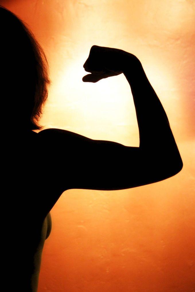 Мышцы рук в тонусе - это красиво