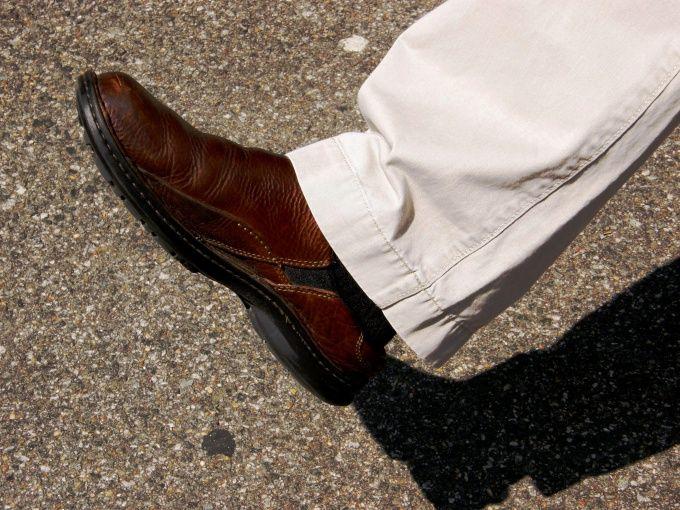 Как укоротить брюки