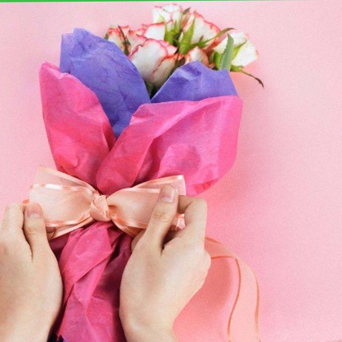 Как упаковать цветы