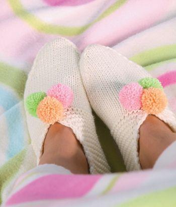 Домашние тапочки согреют и создадут ощущение уюта