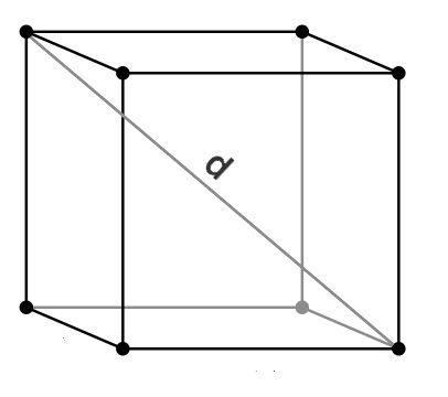 Как вычислить объём куба