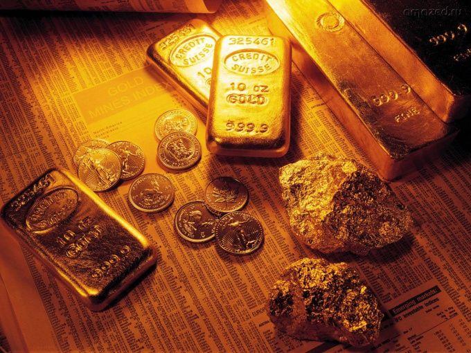 Как выделить золото