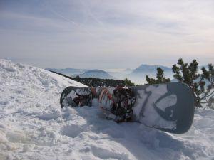 Как закрепить сноуборд
