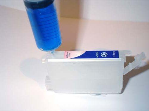 Как заправить струйный принтер