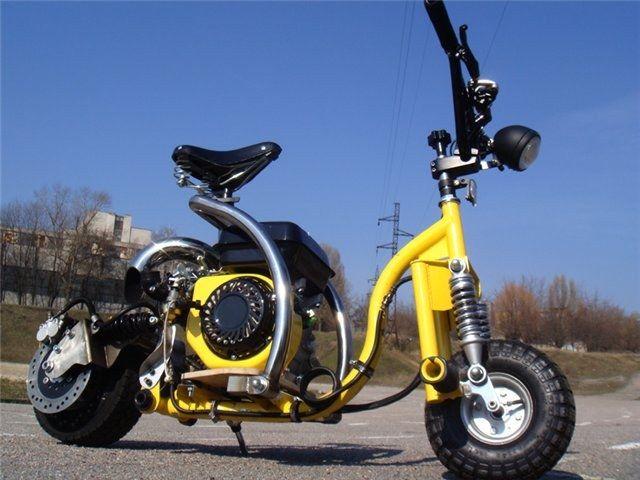 Как зарегистрировать самодельный мотоцикл