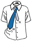 Как завязать узкий галстук