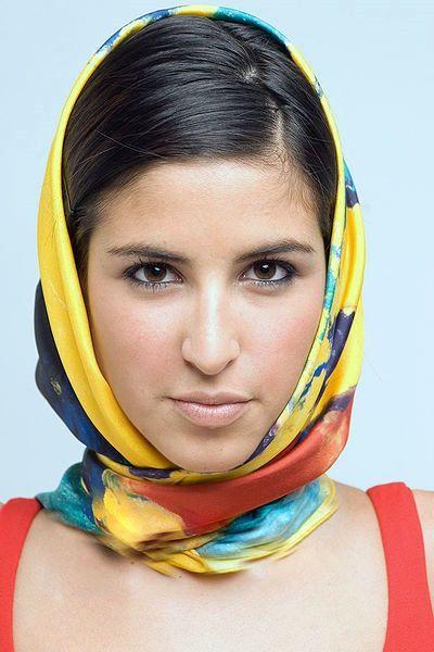 Как завязывать платки на голове