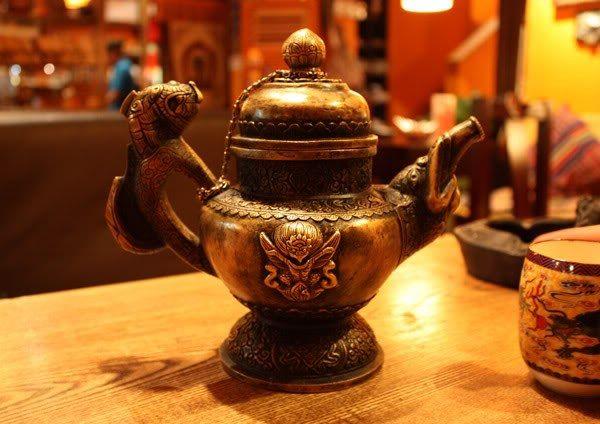 Какие народы пьют соленый чай