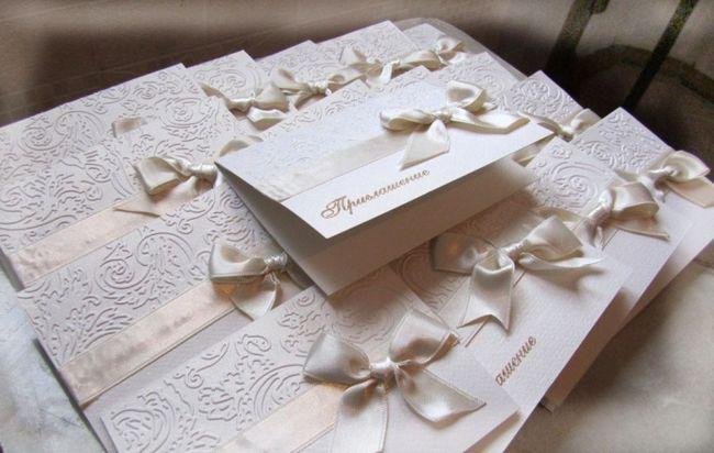 Приглашения на свадьбу - оригинальные идеи