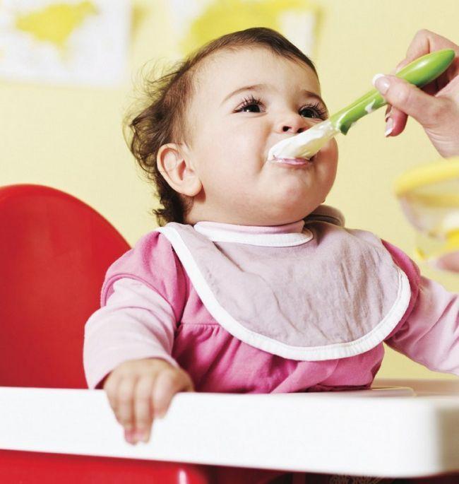 Режим питания ребенка в 6 месяцев