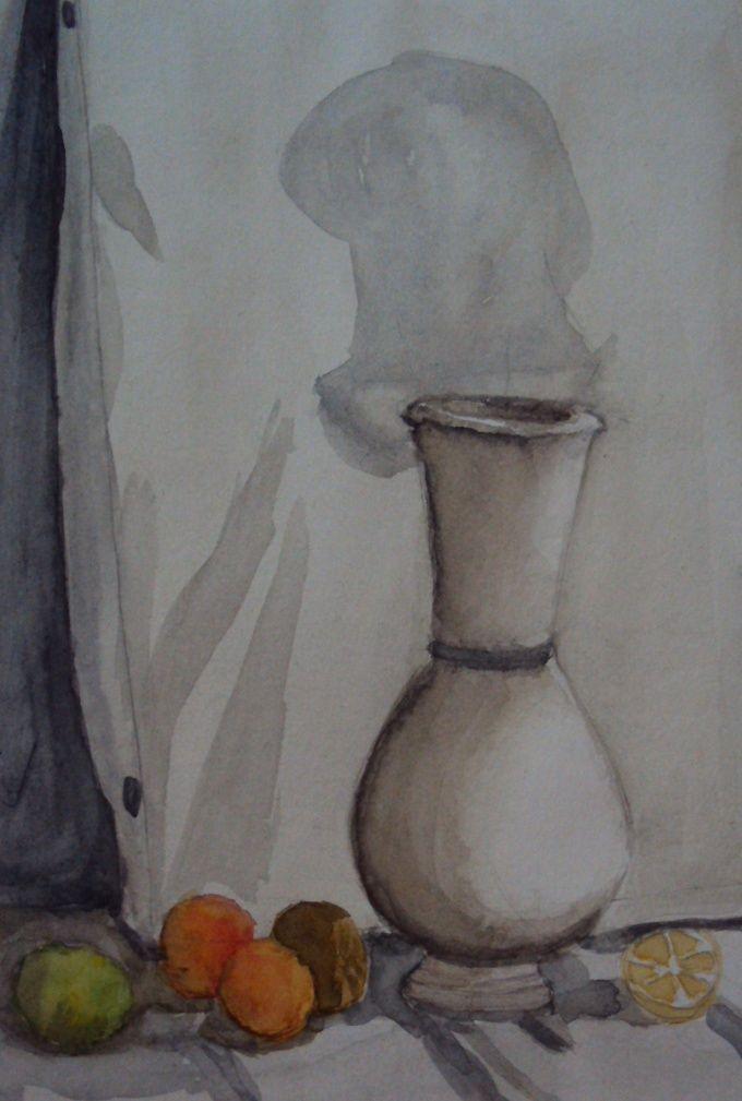 Как научиться рисовать вазу