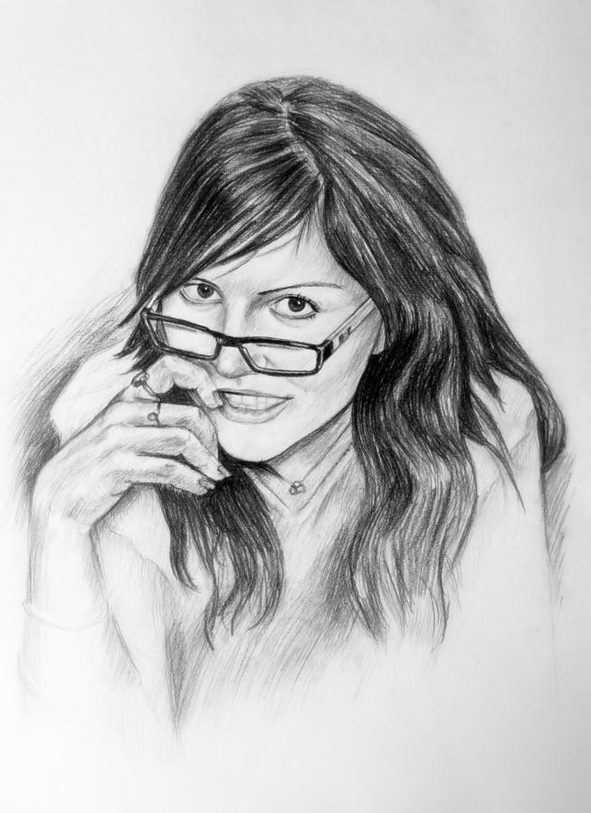 Как научиться рисовать портреты карандашом