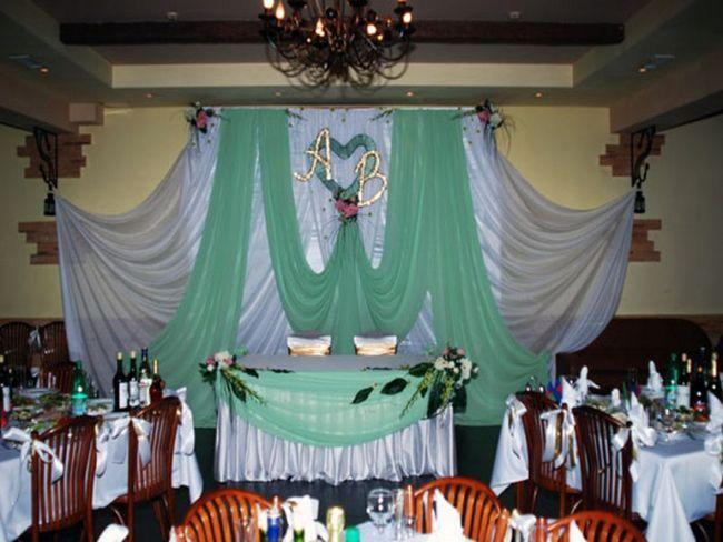 Как оформить зал к свадьбе