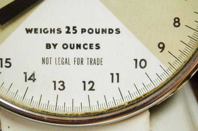 Как перевести килограммы в фунты