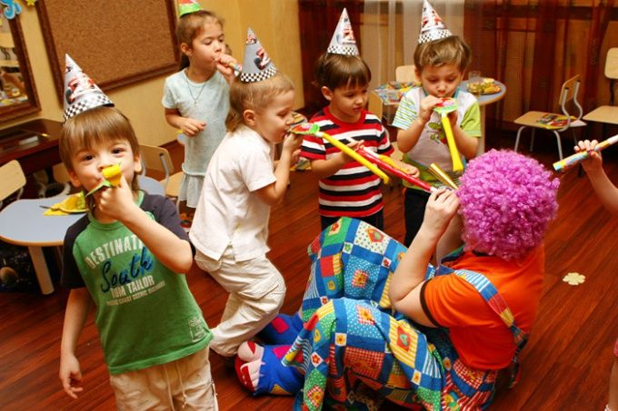 Как провести весело день рождения ребёнка