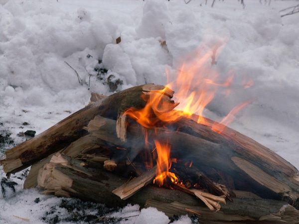 Как разжечь огонь