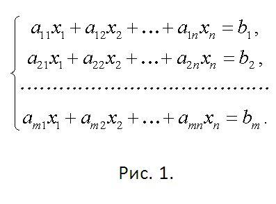 Как решать системы линейных уравнений