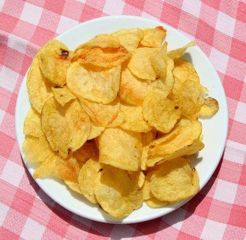 Как сделать домашние чипсы