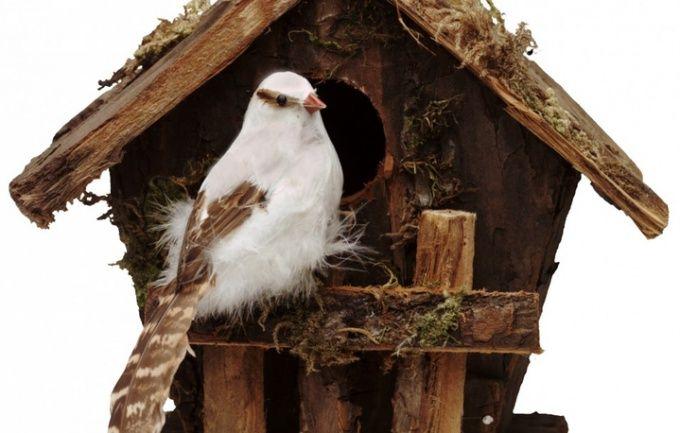 Как сделать кормушку для птиц из дерева
