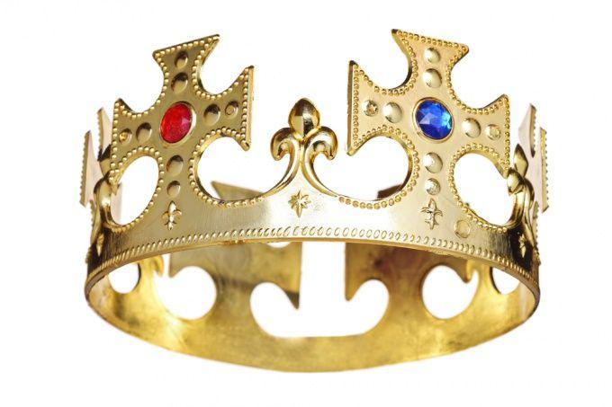 Как сделать корону короля