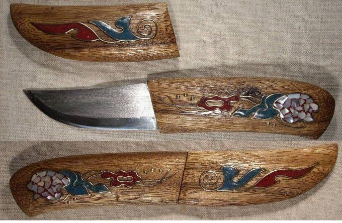 Как сделать ножны
