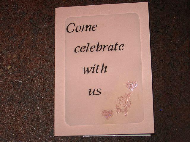 Сделайте приглашения на свадьбу сами - порадуете друзей