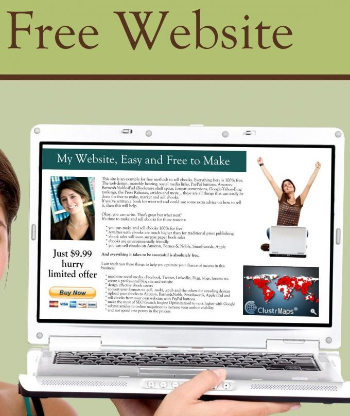 Как создать свою страницу бесплатно
