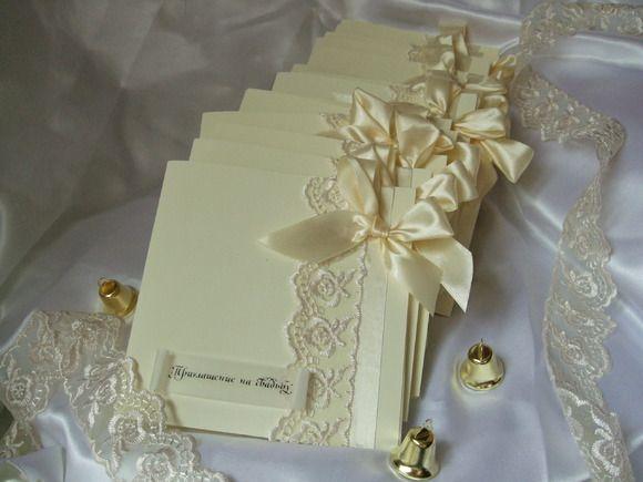 Как сделать свадебное приглашение