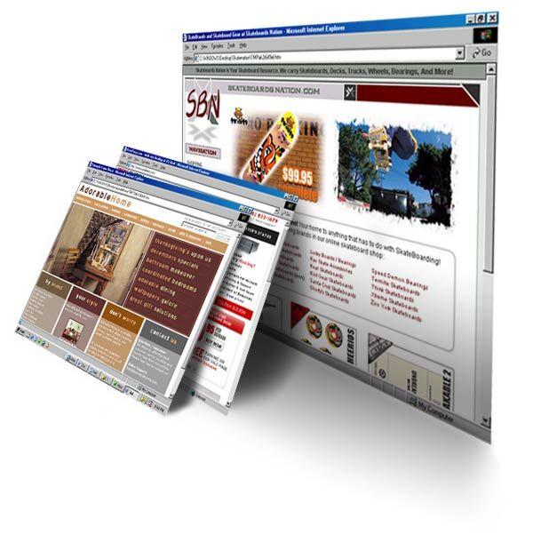 Как создать сайт при помощи программы