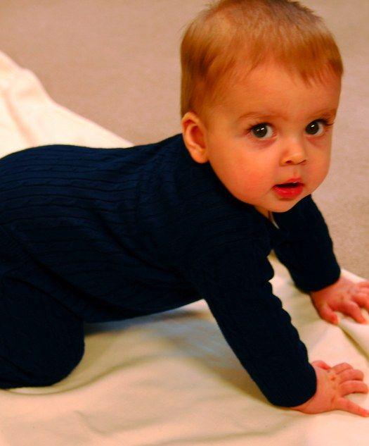 Как вязать комбинезон для новорожденного