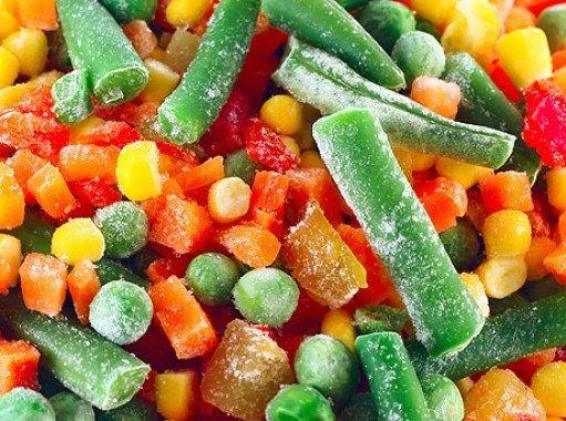 Свежемороженные овощи: польза или вред